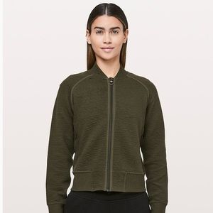 Lululemon On Repeat Bomber Jacket | Green